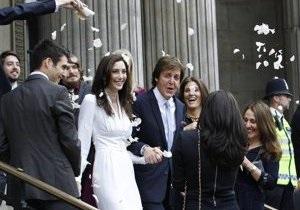 Пол Маккартни женился в третий раз