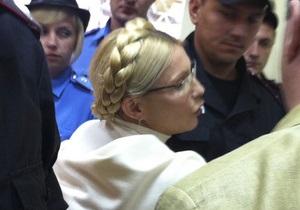 В девятый раз. Суд рассматривает вопрос об изменении Тимошенко меры пресечения