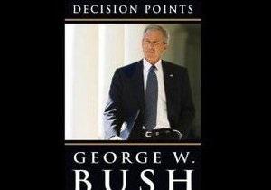 Джордж Буш написал книгу воспоминаний