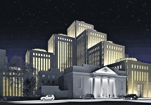 Сегодня: В Днепропетровске достраивают крупнейший в мире еврейский центр
