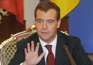 Медведев готов обеспечить вещание в России украиноязычных каналов