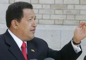 Во время турне по южноамериканским странам у Чавеса сломался самолет
