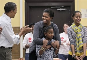 Дочь Обамы проверила свои знания китайского языка на Ху Цзиньтао