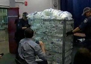 Австралийская полиция изъяла полтонны метамфетамина из Китая