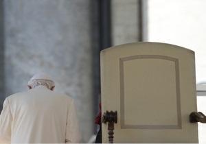 Отречение Папы Римского: Бенедикт XVI дает напутственное слово кардиналам