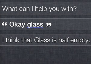 Apple научила своего голосового помощника высмеивать Google Glass - Siri