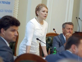 БЮТ назвал кандидатов на отставку в Кабмине