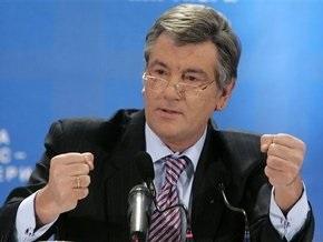Ющенко отметил сверхликвидность банковской системы