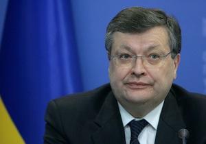 Глава МИД заявил, что Украина готова к парафированию соглашения об ассоциации с ЕС