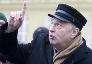 Жириновский: Диме Билану незачем Евровидение
