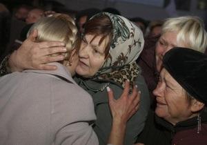 В Виннице на встрече с Тимошенко избиратели напали на журналиста