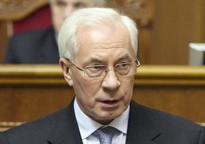Азаров подтвердил, что тарифы на газ для населения и промышленности не повысятся