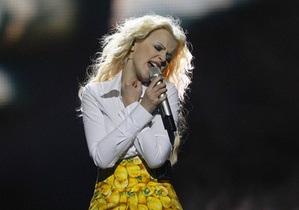 Мика Ньютон провела первую репетицию на Евровидении-2011