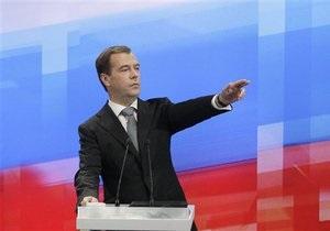 Медведев почти за два с половиной часа успел ответить на 42 вопроса