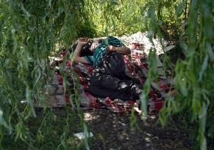 Сегодня жара в Киеве стала рекордной за последние 112 лет