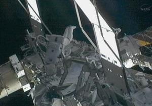 Астронавты успешно устранили неполадки в энергосистеме МКС