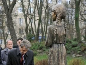 Ющенко считает Голодомор гуманитарной катастрофой человечества