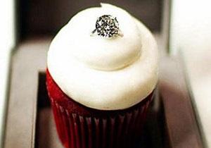 Кондитерская в США выставила на продажу пирожное с обручальным кольцом