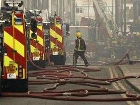 В центре Лондона произошел сильный пожар
