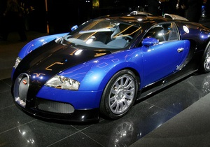 Forbes назвал Bugatti Veyron самым модным авто 2011 года