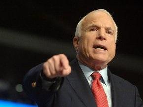 Маккейн раскритиковал решение Обамы установить дату вывода войск из Афганистана