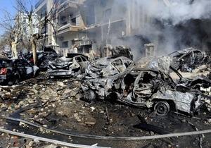 В результате взрывов в столице Сирии погибли 27 человек, около 100 пострадали