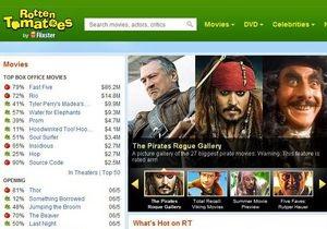 Warner Bros. купила сайт Rotten Tomatoes