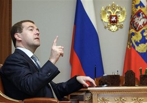 Медведев назначил врио мэра Москвы