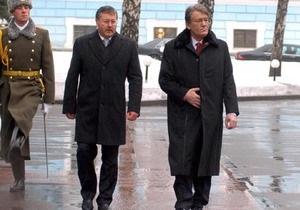 Наша Украина возмущена заявлением Гриценко о том, что по газовому делу в тюрьме должен сидеть Ющенко