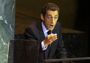 Саркози предложил повысить статус Палестины в ООН до государства-наблюдателя