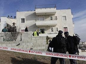 Израильские власти залили дом палестинского террориста бетоном