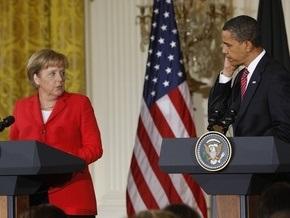Меркель пожелала Обаме успехов в Москве