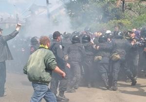 Замглавы МВД возложил полную ответственность за события во Львове на Свободу