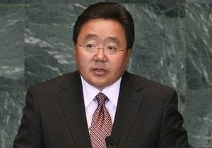 Президент Монголии прибыл в Украину