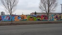 Граффити размером 780 м2 может стать новой достопримечательностью Киева