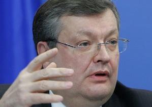 Грищенко: Европейская перспектива Украины закреплена в статутных документах ЕС
