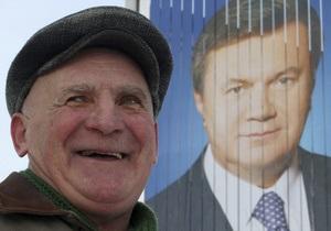 Янукович: Показатель бедности за 2010 год - самый низкий за последнее десятилетие