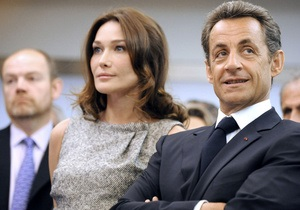 Николя Саркози и Карла Бруни попали в список людей, которые больше всего раздражали французов в 2010 году