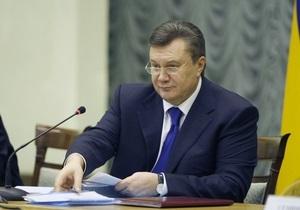 Янукович сменил глав еще пяти областей и Севастополя