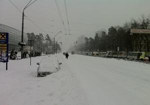 прогноз погоды - снегопад -  Синоптики обещают украинцам понедельник без существенных осадков