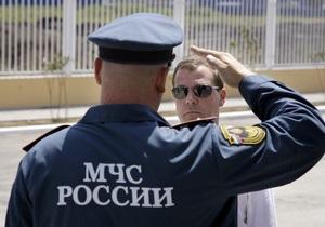 МЧС РФ отчиталось о ликвидации пожаров в 14 регионах