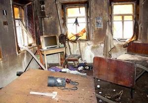 Пожар в Харьковской области: два человека погибли