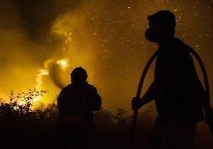 Пожар в Киеве на улице Фрунзе горят склады