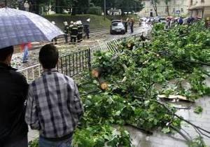 Над Львовом пронесся ураган: есть пострадавшие