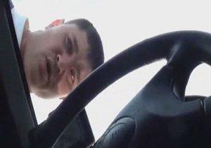 В Донецкой области обматерили водителя, снимавшего гаишников на камеру