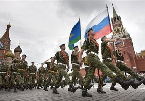 В юбилейном параде на Красной площади примут участие военные из США, Британии и Франции