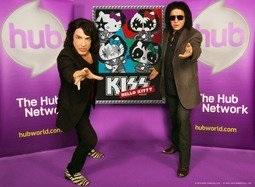 Музыканты Kiss станут котиками Hello Kitty