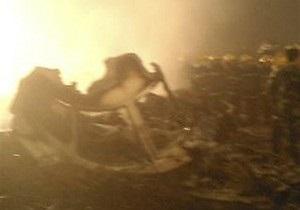 В одном из городов США на улицу упал одномоторный самолет