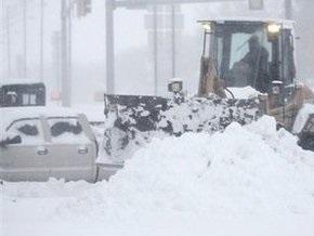 Центральные штаты США страдают от снегопадов и наводнений