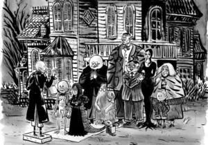 Тим Бертон снимет 3D-версию Семейки Адамс